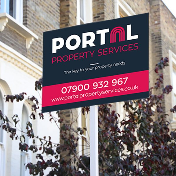 Portal Property Services board