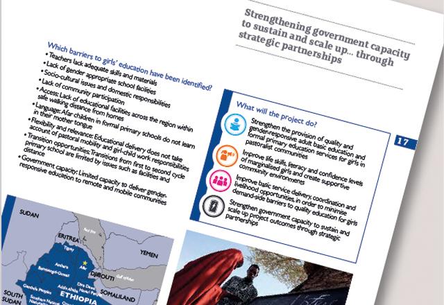 Girls' Education Challenge brochure 1