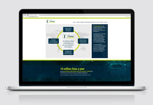 Fleming Network website