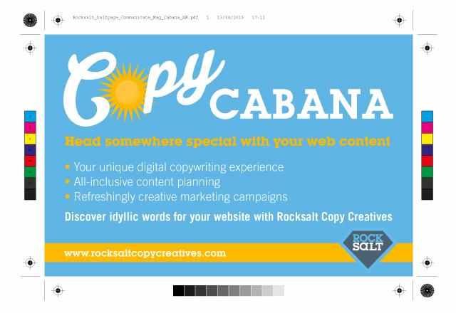 Rocksalt Copy Creatives half page ad
